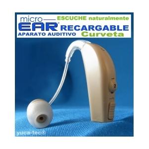 MICRO EAR® Aparato Auditivo RECARGABLE Curveta