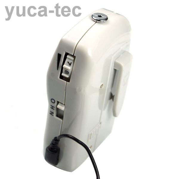 EAR MAX® Fuerte Recargable Portátil Sordera Aparato Auditivo Auxiliar